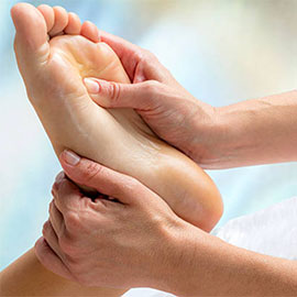 Reflexology at Coulsdon Osteopathic Clinic