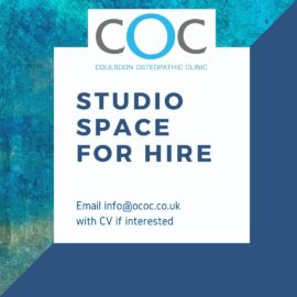 Studio Space for Hire