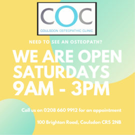 Did you know we're open on Saturdays too?!